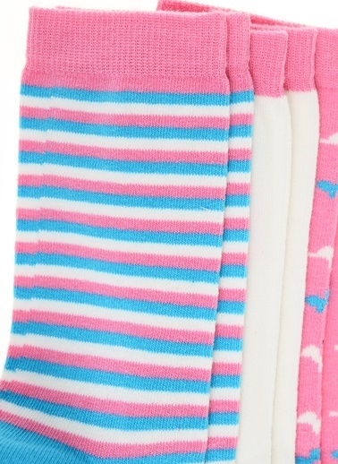 Pixter&Bro 3'lü Çorap Renkli